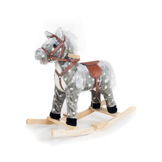 تصویر از اسب گهواره ای بچه